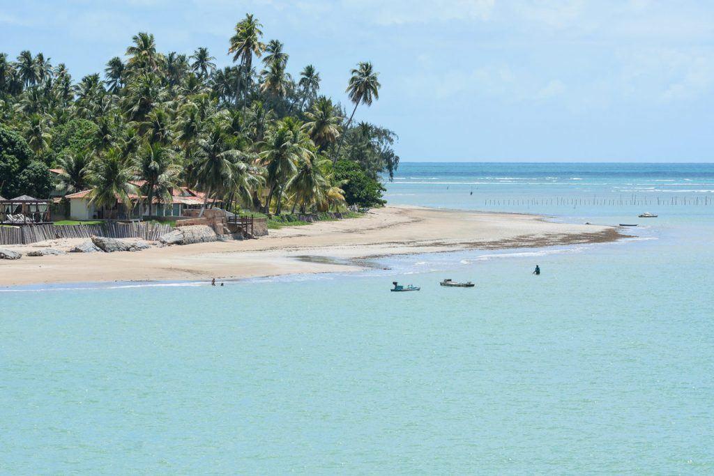 Praias paradisíacas no Nordeste
