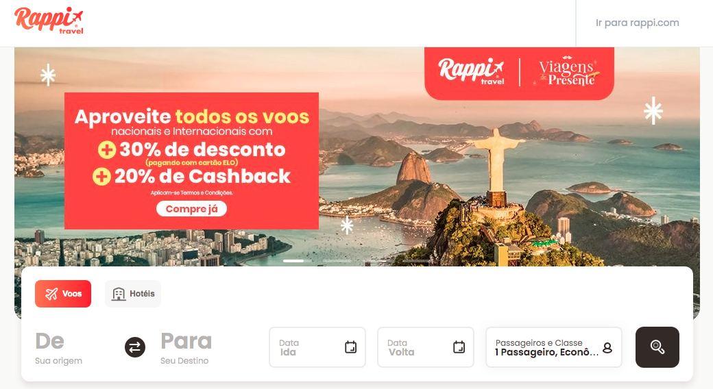 Rappi Travel - App de viagens