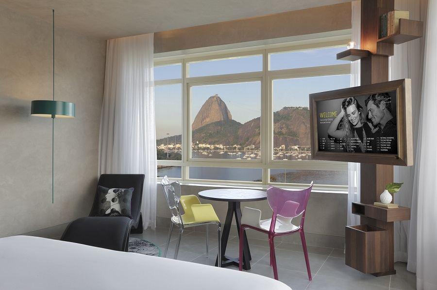 conheça o hotel Yoo2 Rio de frente ao Pão de Açúcar