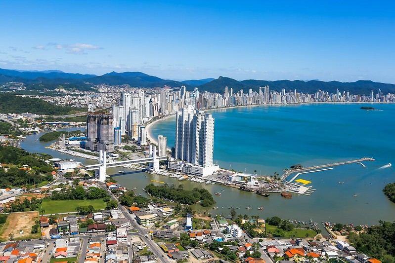Paradas entre São Paulo e Florianópolis