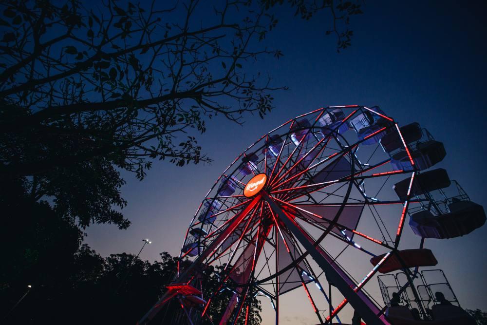 Ingresso roda-gigante Ibirapuera