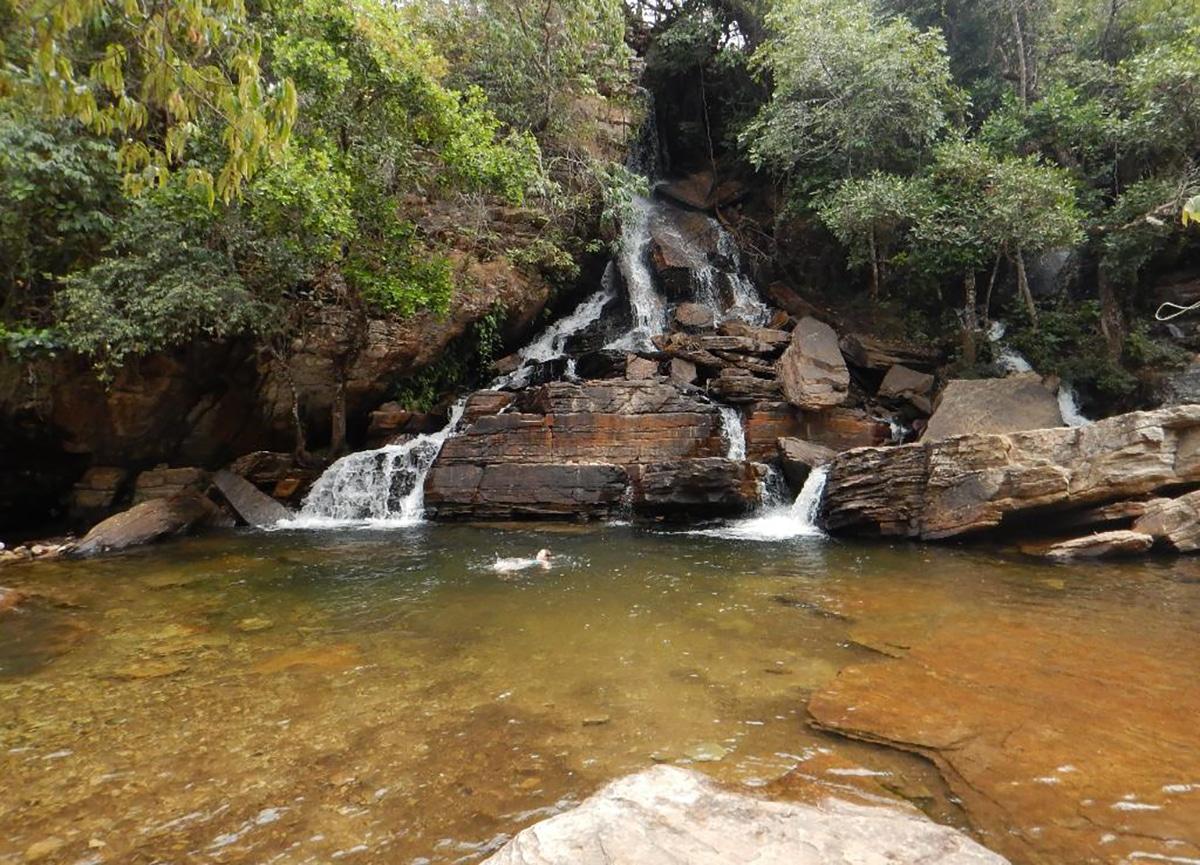 Cachoeira Usina Velha Pirenopolis